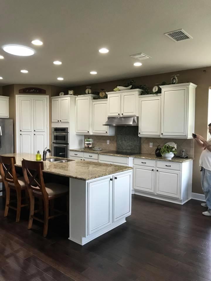 Pleasant Cabinet Refinishing Ocala The Villages Fl Renew Interior Design Ideas Clesiryabchikinfo